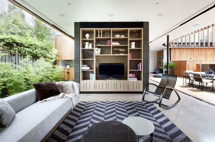 exciting living room interior