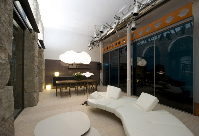 great renovation interior living area
