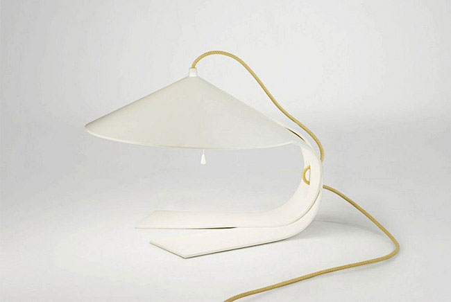 harmonious complexity shapes lamp