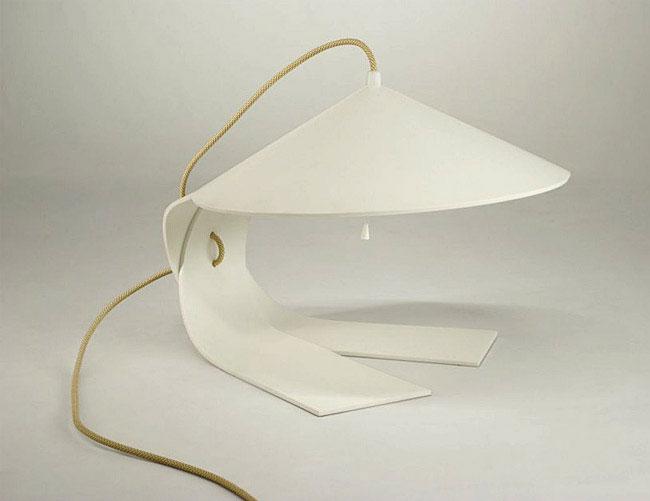 lamp realised one horizontal plane