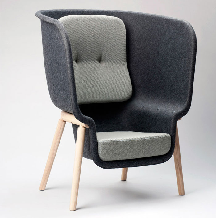 large privacy chair