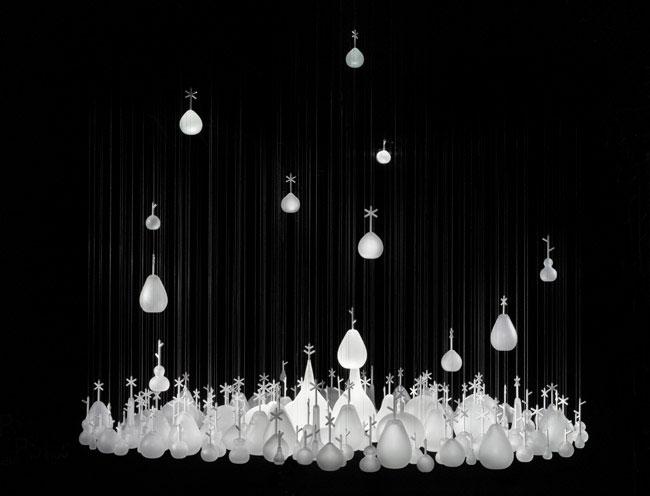 lighting growing vases nendo
