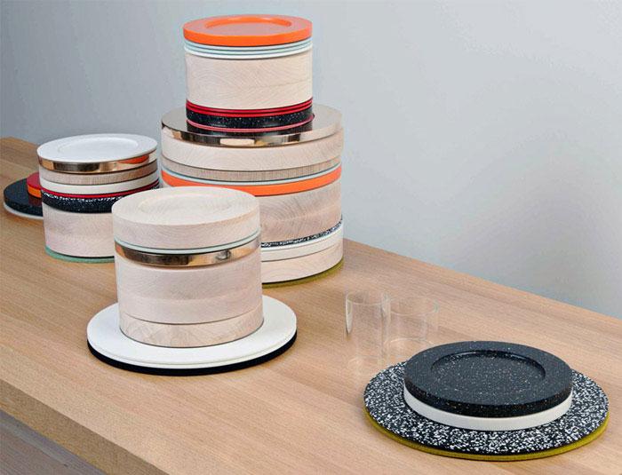 modern basic plates