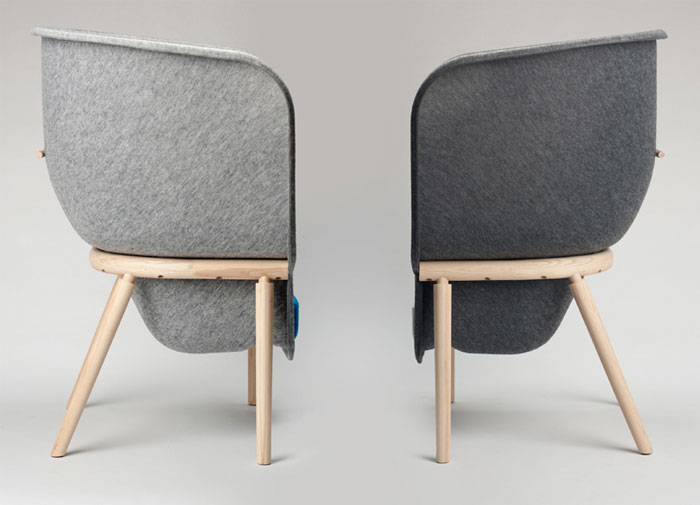 pod large privacy chair