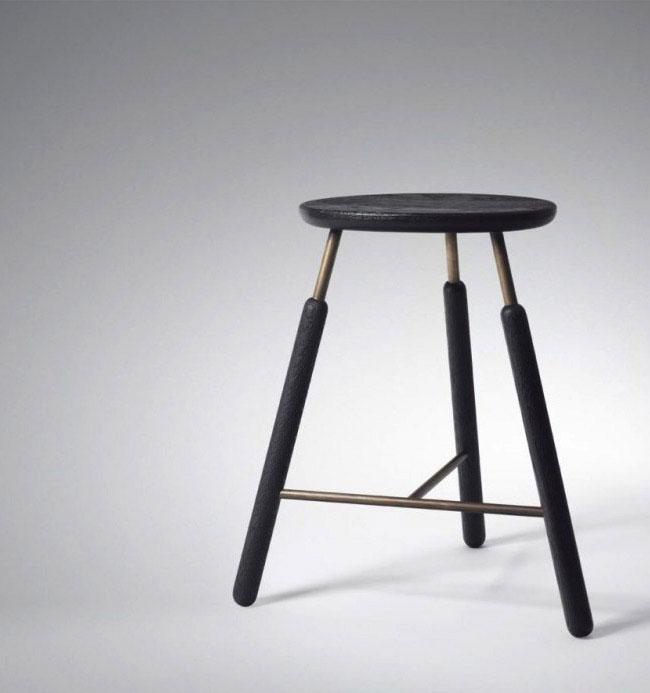 raft stool simplistic purity