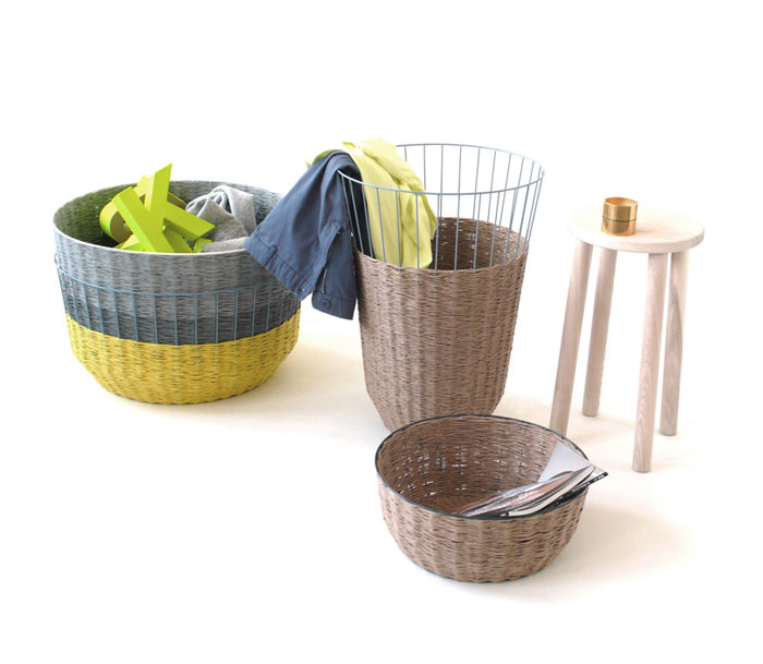 three dimensional objects baskets