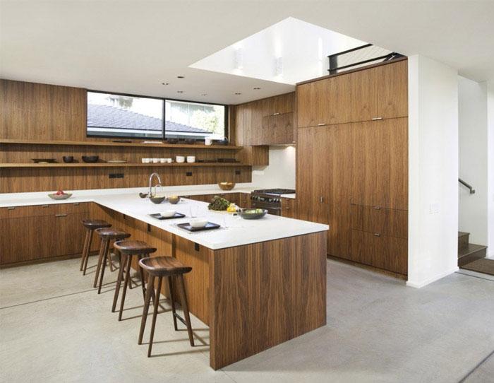 kitchen concrete floor