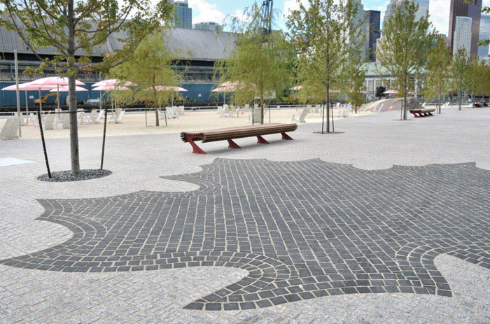 plaza space