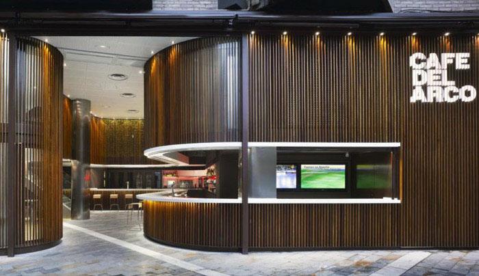 redesign café del arco decor bar
