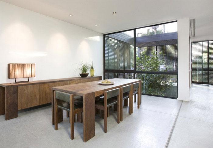 stylish house dining area
