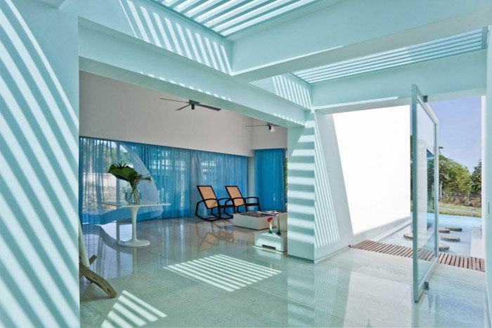 colombian contemporary house interior design
