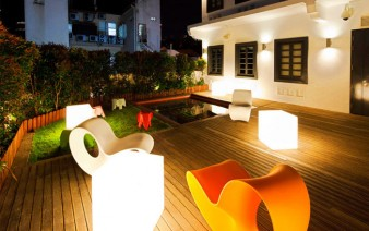 contemporary design hotel garden decor 338x212