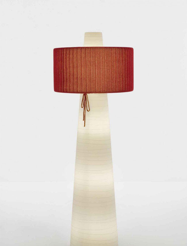 floor lamp textile deco