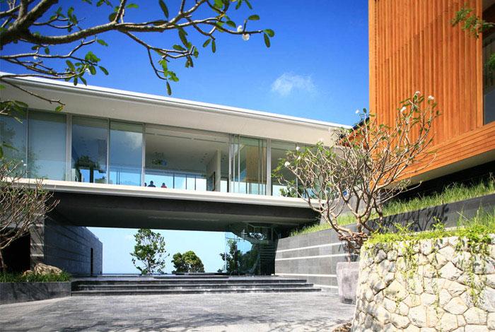 luxury villa mayavee phucket outdoor area