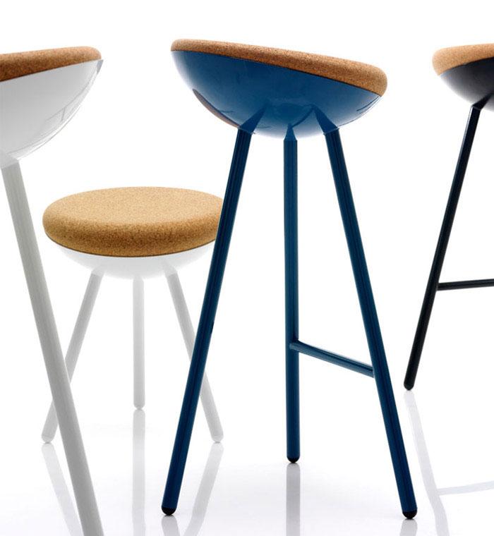 family of stools furniture design