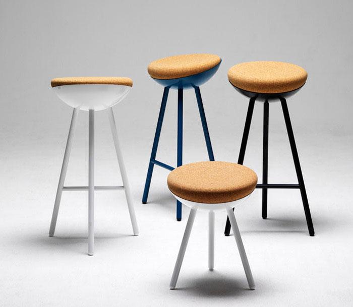 family of stools furniture design1