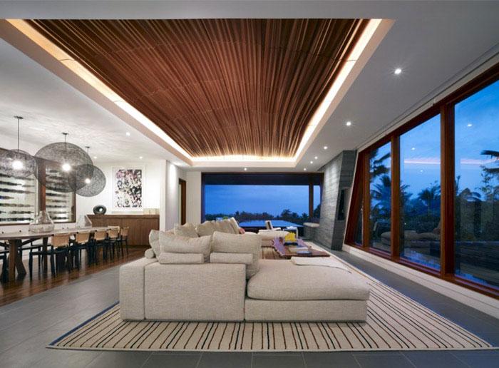 kona residence interior desidn living room