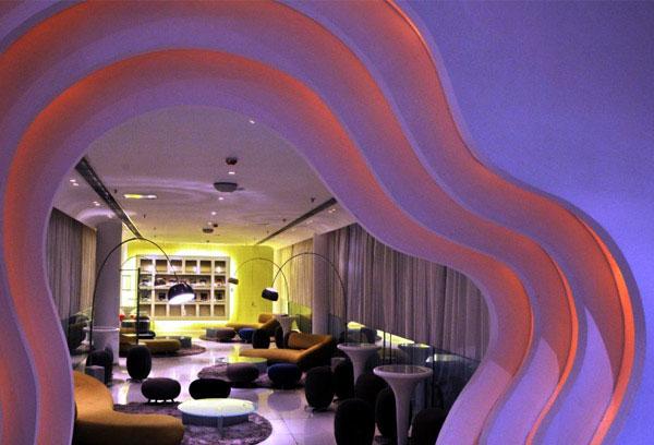 oasis club interior