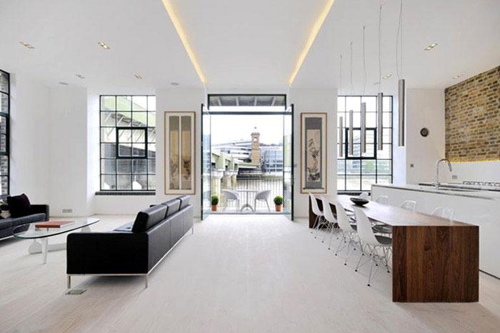 custom designed contemporary apartment