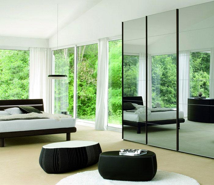 double bedroom modern interior