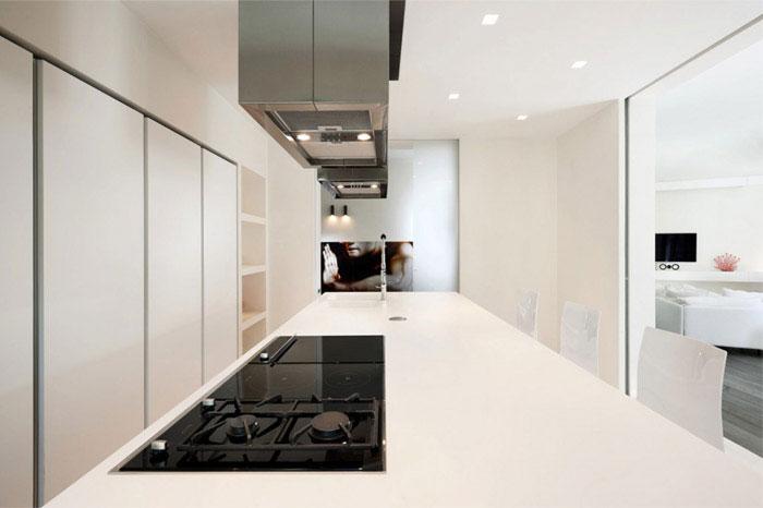 luxurious apartment interior design kitchen