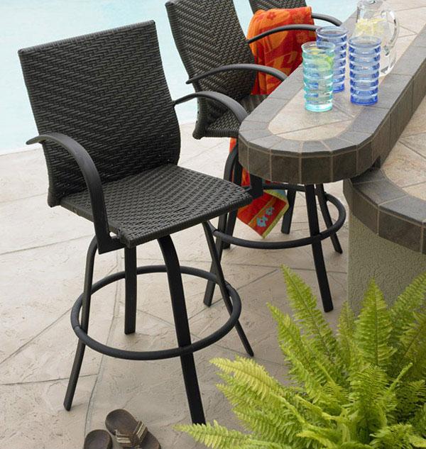 selection bar stools outdoor