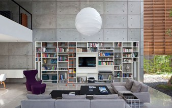 contemporary private residence living area 338x212
