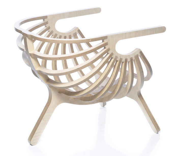 shell lounge chair 3