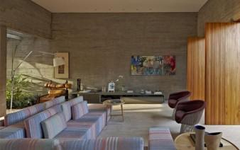 stylish house brazil interior living room 338x212