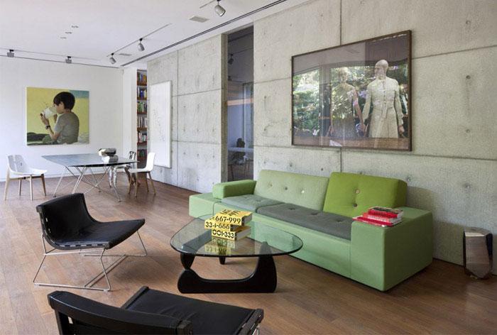 urban house interior decor livingroom