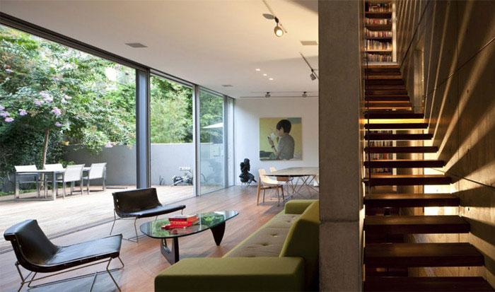 urban house interior living room