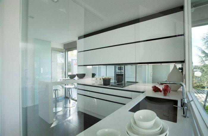 beautiful family house kitchen