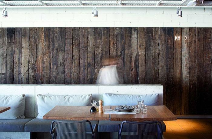 eco interior decorating restaurant