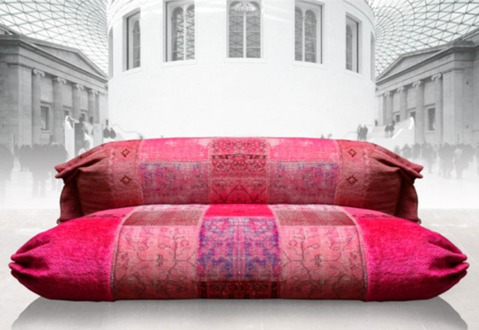 furniture design vintage oriental patchwork