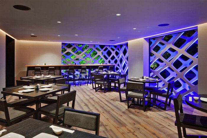 japanese restaurant interior dining