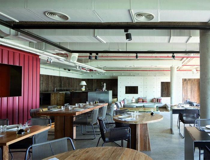 modern interior decorating restaurant
