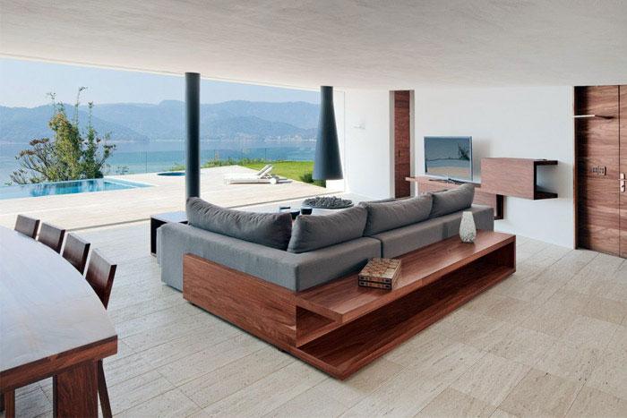 casa la roca interior living room