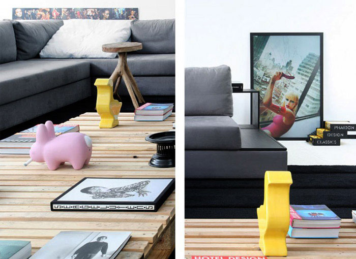 contemporary brazilian house living room decor