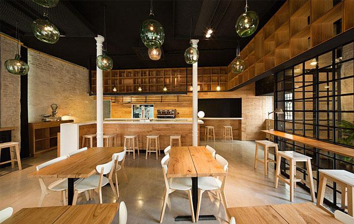 restaurant pacatar interior dining area decor