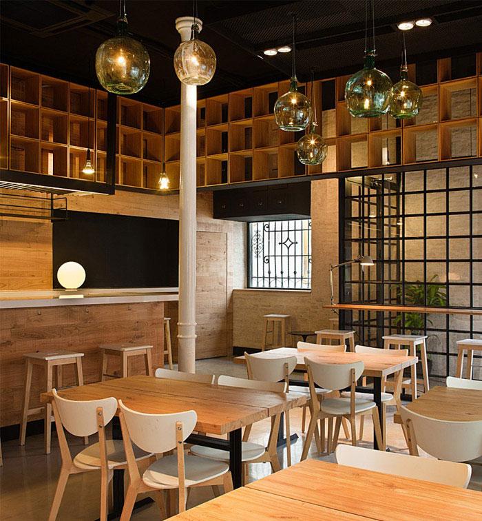 restaurant pacatar interior dining area