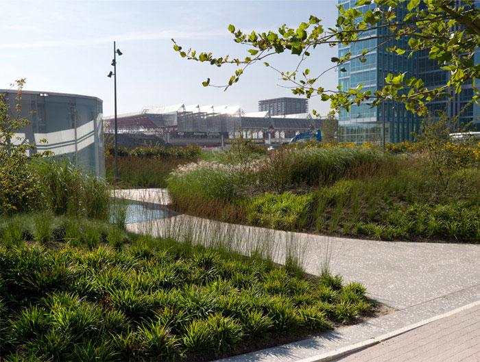 largest rooftop park