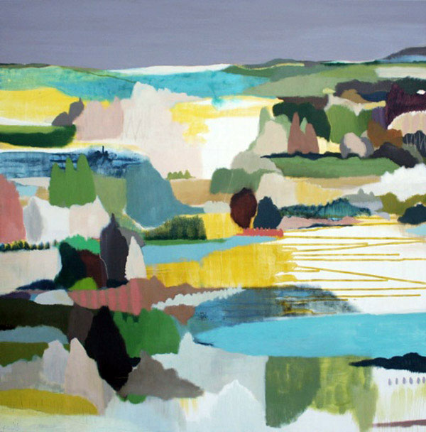 modern abstract landscape2