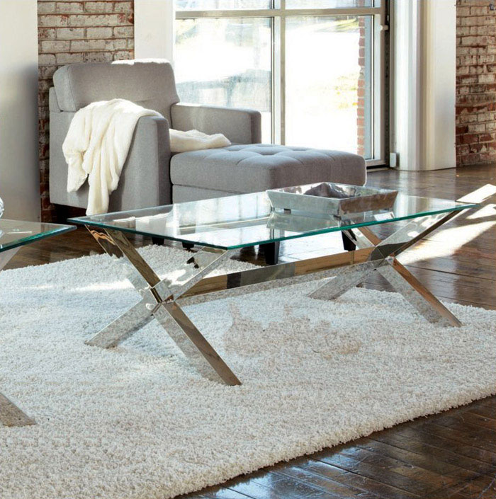 coffee table interior white