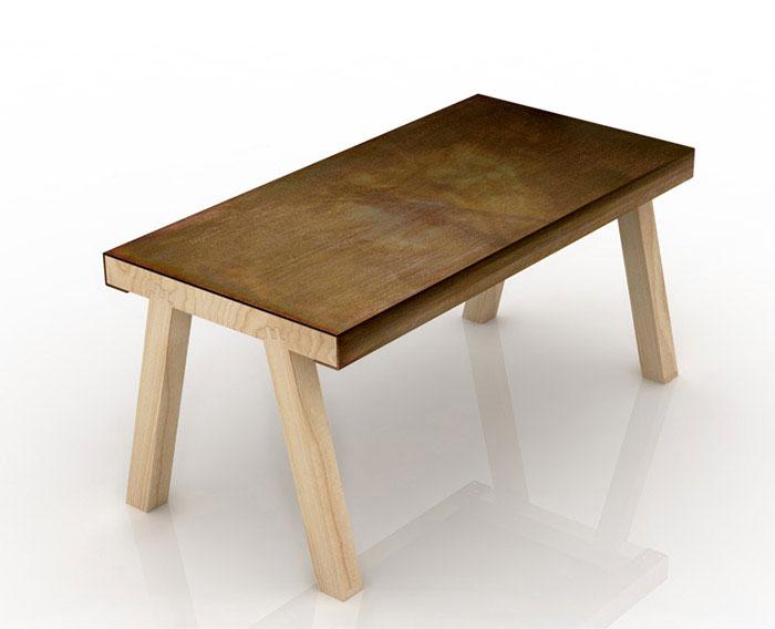 mastro iron table