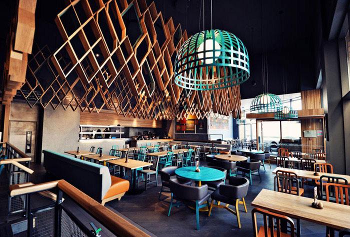 restaurant style concept interior decor