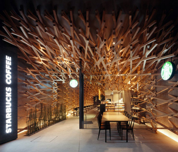 starbucks coffee kengo kuma associates