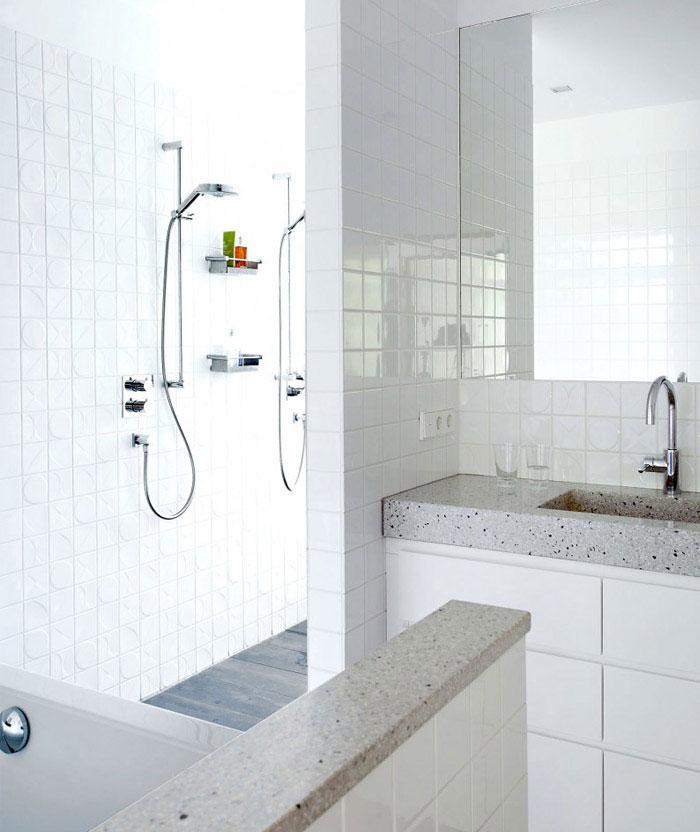 transformed double bungalow interior bath