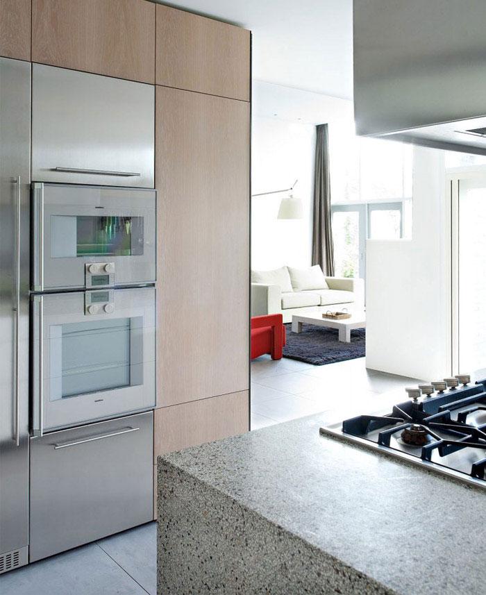 transformed double bungalow interior kitchen