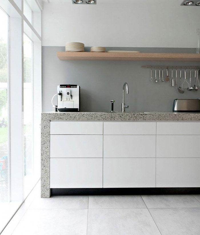 transformed double bungalow kitchen interior