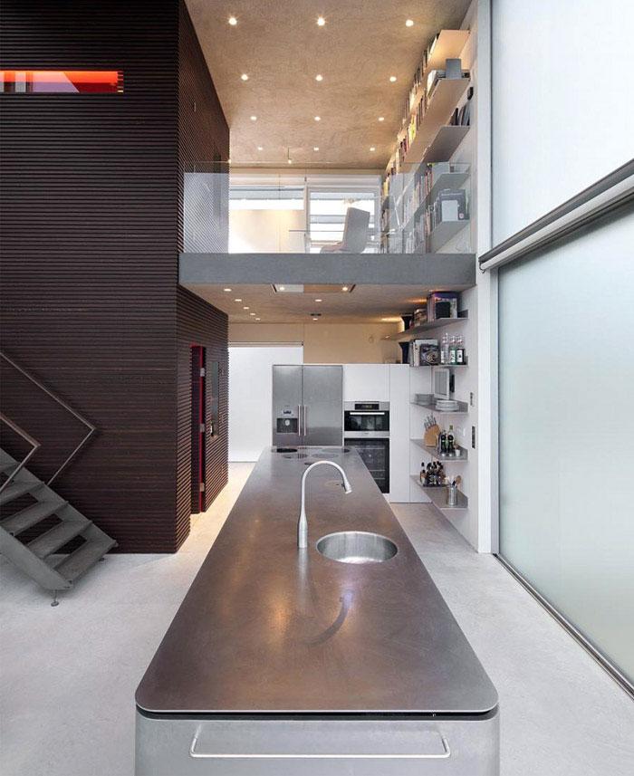waterside house kitchen